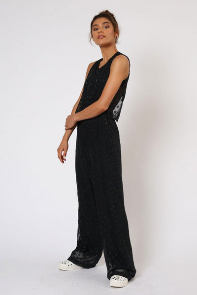 RELIGION ENCHANTMENT BLACK JUMPSUIT HENP91 - Lizardfashion