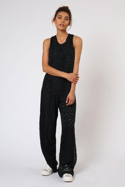 RELIGION ENCHANTMENT BLACK JUMPSUIT HENP91