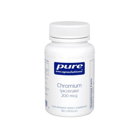 Chromium (picolinate) 200 mcg by Pure Encapsulations