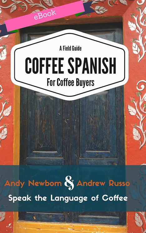 Coffee Spanish Book - eBook -Kindle