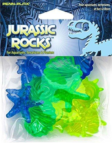 Penn Plax Jurassic Rocks Acrylic Decoration 12 Pc Colors Vary