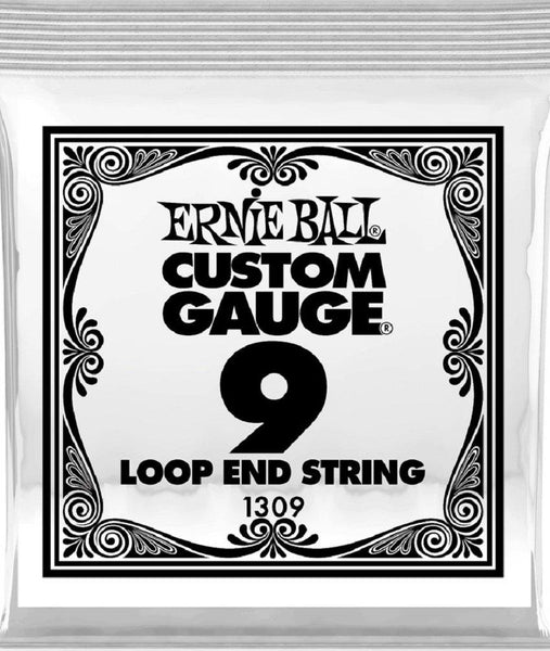 Ernie Ball P01309 (1309).009 Loop End Stainless Steel Plain String