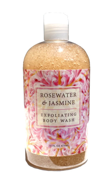 Greenwich Bay ROSEWATER JASMINE Body Wash for Women 16 oz.