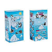 "2 Pack - Arctic Animal Paper Bags ~ 5 1/4"" X 3 1/4"" X 10"" 12pc"