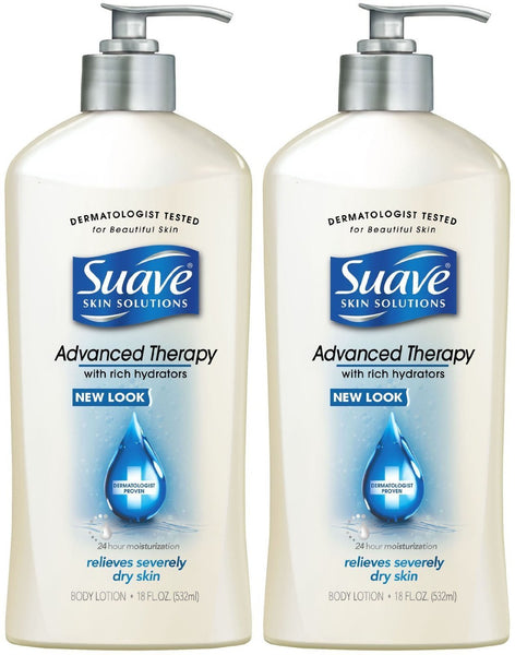 Suave Advanced Therapy Hydrators Skin Lotion Pump