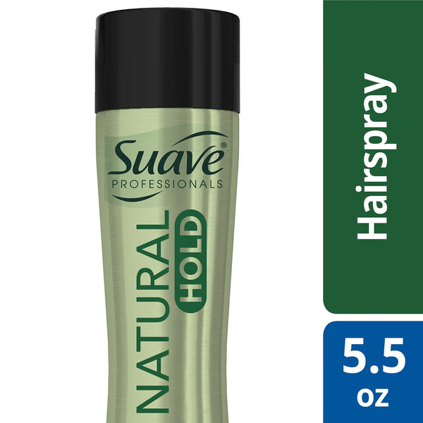 2 Pack - Suave Professionals Compressed Micro Mist Natural Hairspray 5.5 oz