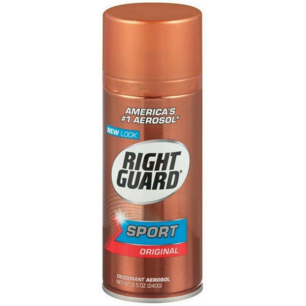 2 Pack - Right Guard Sport Deodorant Aerosol, Original, 8.5 oz