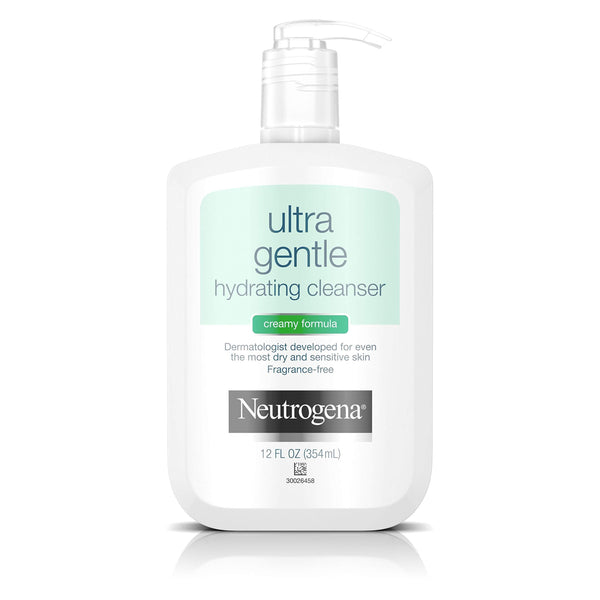 Neutrogena Ultra Gentle Hydrating Daily Facial Cleanser 12 Fl Oz
