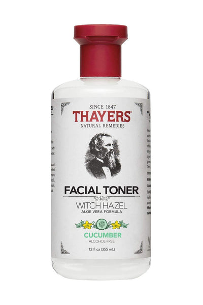 Thayers Alcohol-Free Cucumber Witch Hazel Facial Toner 12 oz