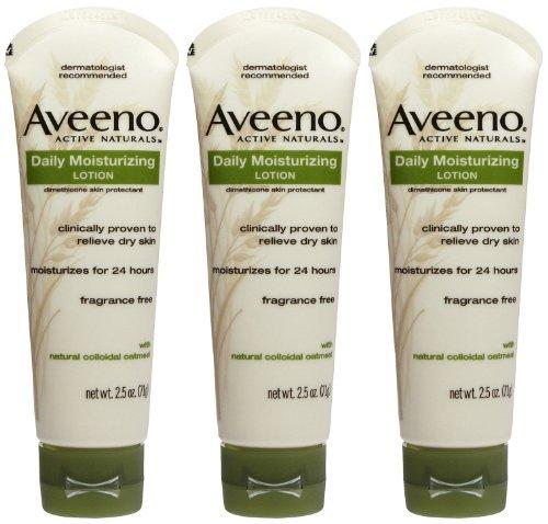 2 Pack - Aveeno Daily Moisturizing Lotion - 2.5 oz