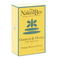 The Naked Bee Oatmeal & Honey Triple Milled Soap 5.0 oz
