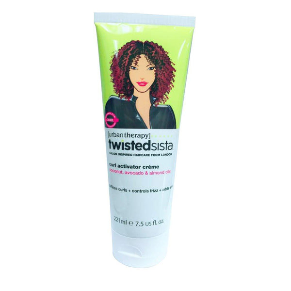 2 Pack - Twisted sista Curl Activator Creme 7.5 us fl. oz