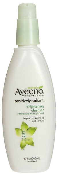 Aveeno Active Naturals Positively Radiant Cleanser, 6.7 Ounce