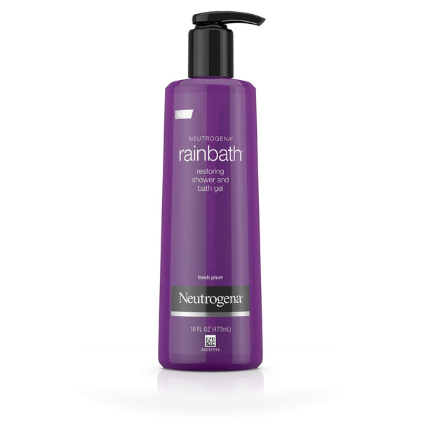 Neutrogena Shower And Bath Gel Fresh Plum and Floral Scent 16oz