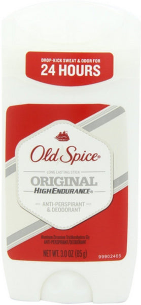 Old Spice High Endurance Anti-Perspirant & Deodorant, Original 3 oz