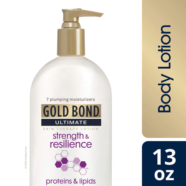 2 Pack - Gold Bond Ultimate Strength & Resilience Skin Therapy Lotion, 13 Oz