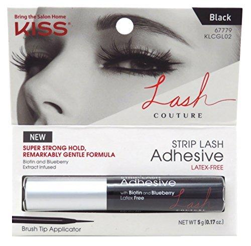 Kiss Lash Couture Adhesive Strip Lash Black