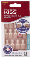 2 Pack - Kiss Products Everlasting French Nail Kit String of Pearls 0.07 Pound
