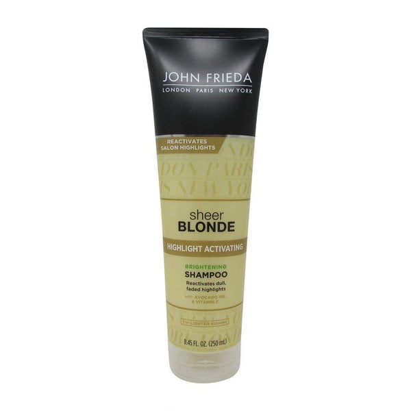 2 Pack - John Frieda Sheer Blnde Highlight Activating Enhancing Shampoo 8.45oz