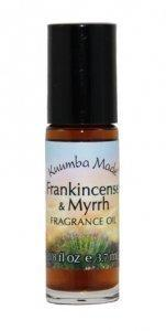 Kuumba Made Frankincense & Myrrh Fragrance Oil Roll-On .125 Oz