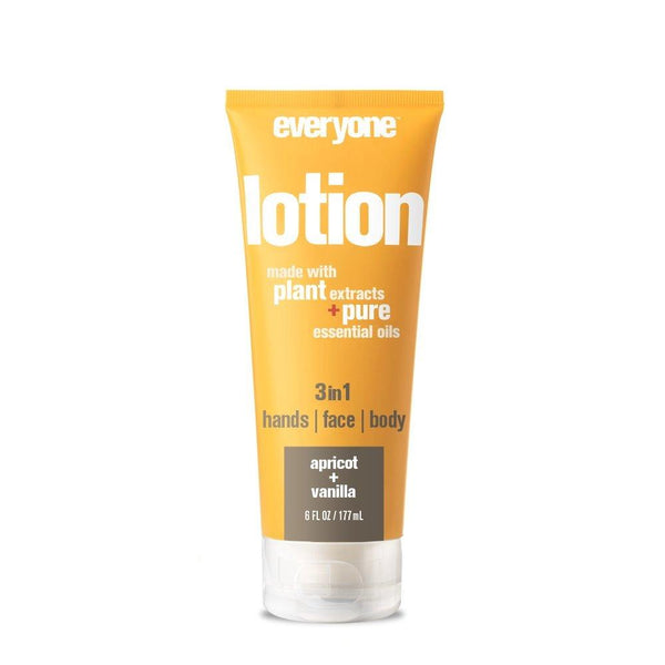 Everyone 3-in-1 Lotion, Apricot and Vanilla, 6 Fl. Oz