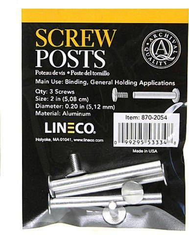 Lineco Binding Posts - 2 In.