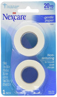 Nexcare Gentle Paper Carded First Aid Tape 1 in x 10 yds