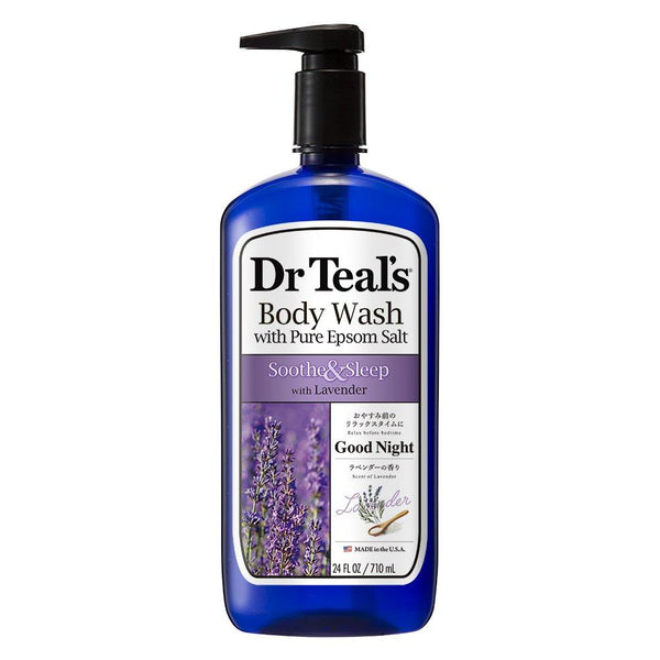 Dr Teal's Pure Epsom Salt Body Wash W/ Lavender 24Oz