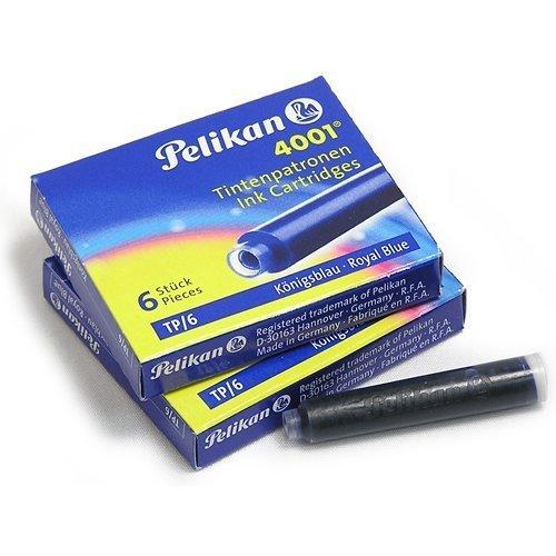 Pelikan Ink Cartridge for Fountain Pen, Royal Blue