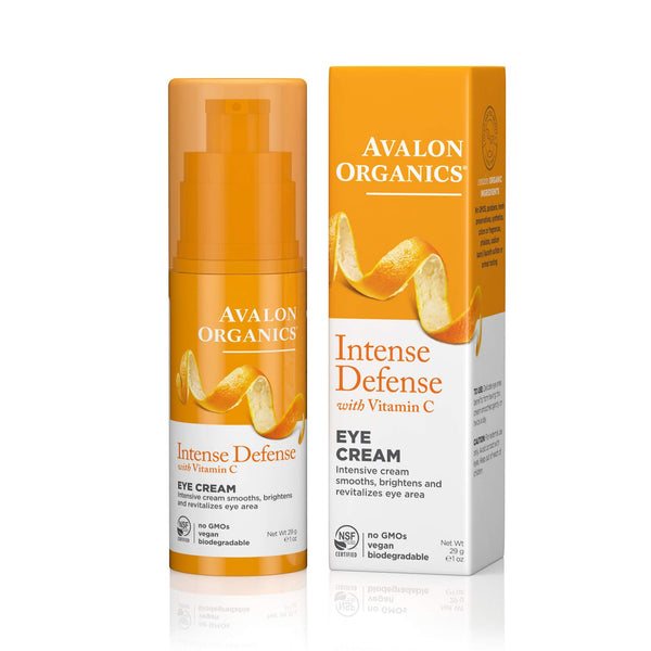 Avalon Organics Intense Defense Eye Cream, 1 oz.