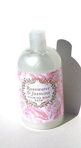 Greenwich Bay Rosewater Jasmine Foaming Milk Bath 16 oz