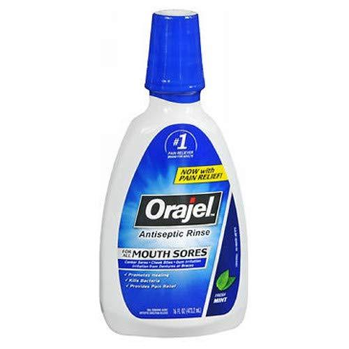 Orajel Antiseptic Mouth Sore Rinse 16 oz