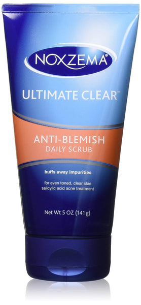 Noxzema Ultimate Clear Anti-Blemish Daily Scrub, 5 oz