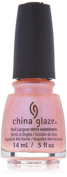 China Glaze Nail Lacquer with Hardeners:Afterglow 70697