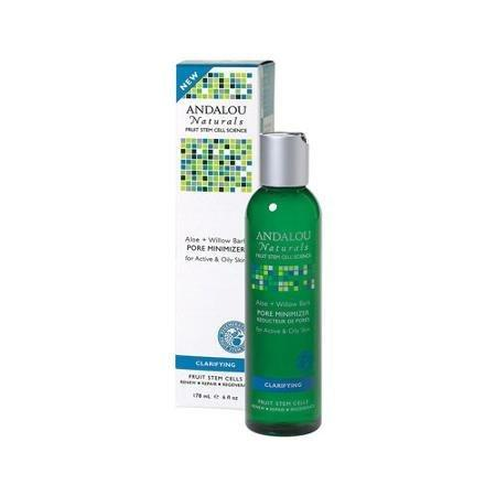 Andalou Naturals Face Pore Minimizer Aloe + Willow Bark 6 oz