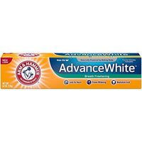 4 Pack - Arm & Hammer Advance White Breath Freshening Toothpaste, 6 oz.