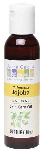3 Pack - Aura Cacia Natural Skin Care Oil, Balancing Jojoba, 4 Fluid Ounce