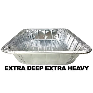"1/2 SIZE EXTRA DEEP EXTRA HEAVY PAN 12 3/4"" L x 10 3/8"" W x 4 3/16"" D 10PK Nicole Collection"