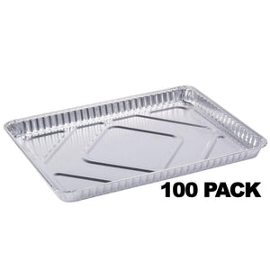 "1/2 Size baking tray/Cookie Sheets 16"" x 11"" x 1.25"" 100PK Nicole Collection"
