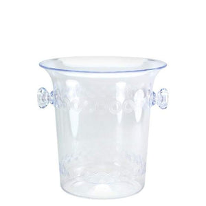 1.5 Quart Clear Plastic Mini Ice Bucket Hanna K
