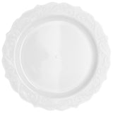 "Elegant Collections Dinner Plate White 10.25"" 10pc"