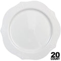 Antique Collection Dinner Plates White 10