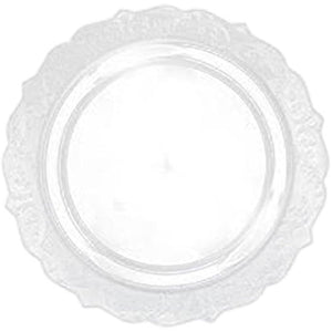 Elegant Collections Dinner Plate Clear 10.25""