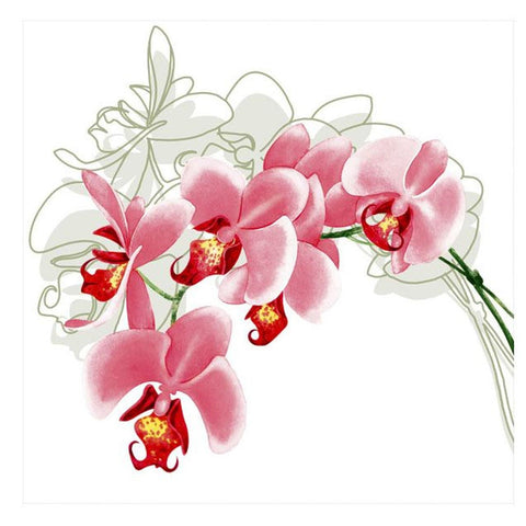 Orchid Stem Lunch Napkins 20ct