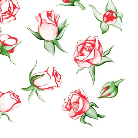 Rose Explosion Lunch Napkins 20ct