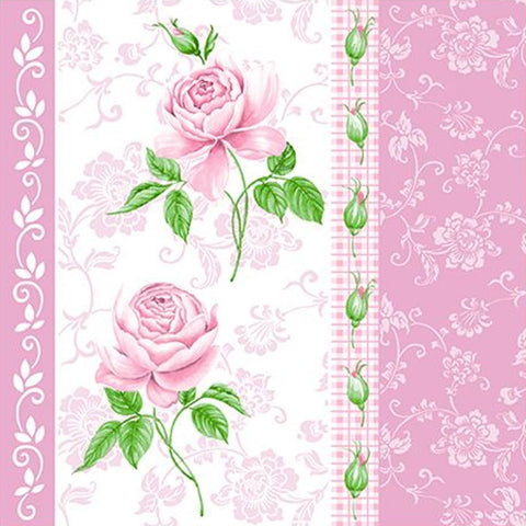 Flowers #33 Disposable Lunch Paper Napkins 20ct