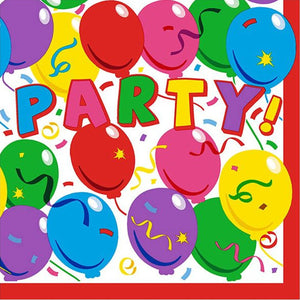 Party #1 Disposable Lunch Paper Napkins 20ct