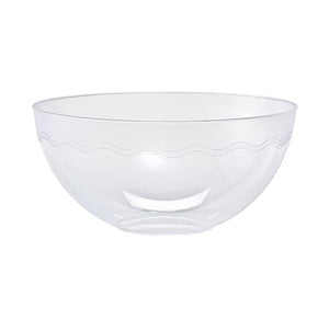 100 oz Clear Plastic Bowl