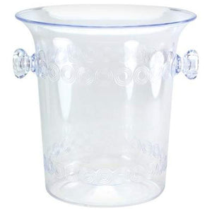4 Quart Clear Plastic Ice Bucket Hanna K