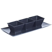 Lillian Tablesettings Condiment Bowl Black 8 oz 20Ct